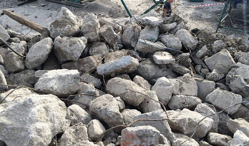 Утилизация бетона