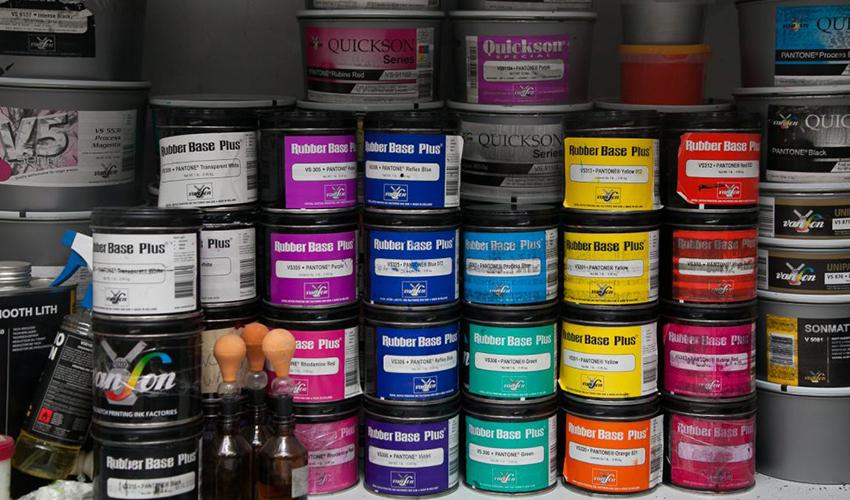 Утилизация краски