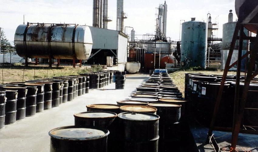 Утилизация нефтесодержащих отходов