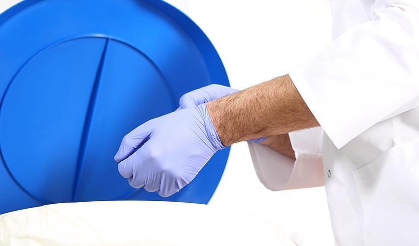 Утилизация перчаток
